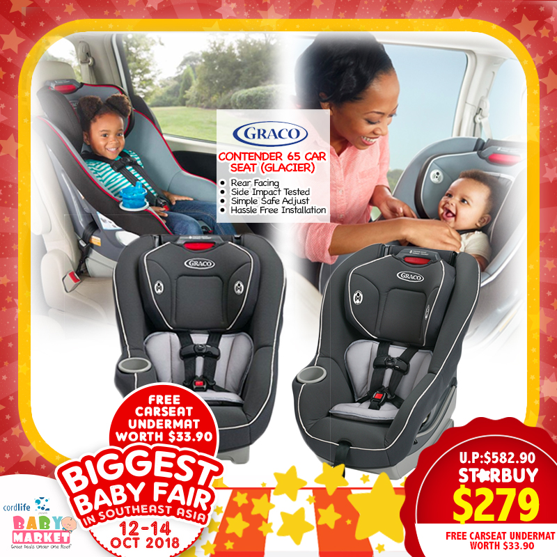 Graco Contender 65 Carseat FREE Undermat Only 259 With Save More Coupon