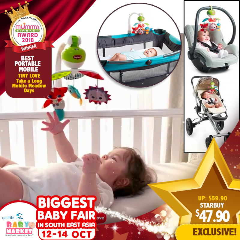 f706b195c2bb Tinylove Take Along Mobile Meadow Days Toy   41.90 ONLY For EARLY ...