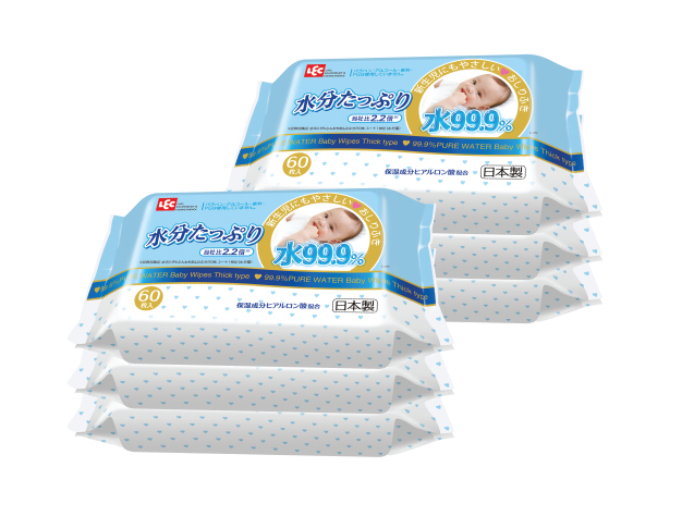 LEC Gold - Rich & Moist Baby Wipes