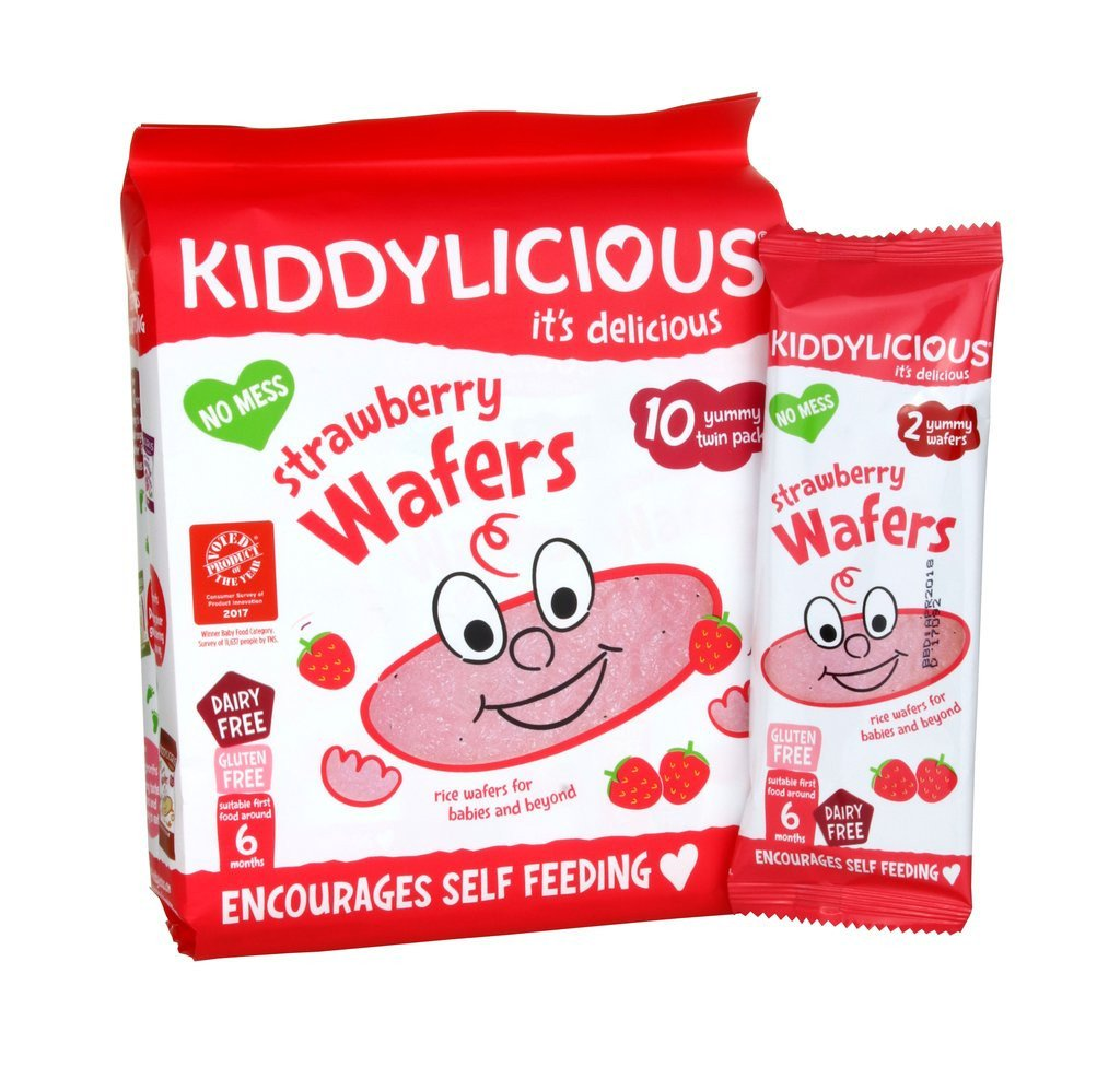Kiddylicious Maxi Wafers