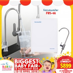 FOCUSWATER Natural Antioxidant Alkaline Water Purifier System with FREE GIFTS