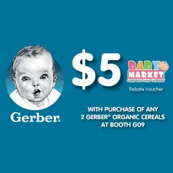 FREE $5 Cash with Gerber Purchase!!