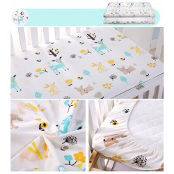 Homie Waterproof Crib Fitted Bedsheet (Additional DISCOUNT For EARLY BIRD SPECIAL*)