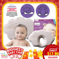 7c419ed3eaae Baby Works Cloud 9 Head Support Infant Pillow
