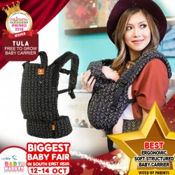 TULA - Best Ergonomic Soft Structured Baby Carrier