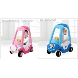 Soft Roof Car (Hello Kitty or Poli)