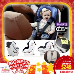 d215047ac8e51 Fedora C6 Isofix Carseat UP TO 67% OFF!