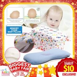 Mummykidz Memory Foam Pillow (Baby Pillow or Kids Pillow)