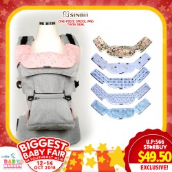 934c71d622a SinBii Drool Pad Twin Deal for Baby Carrier (2pcs drool pad)