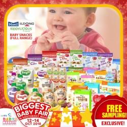 Free Sampling Maeil, Ildong, Kiddylicious Baby Snacks!!