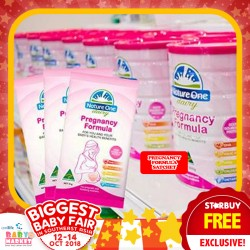 Nature One Dairy FREE PREGNANCY FORMULA Samples Exclusive at Baby Market Fair!!