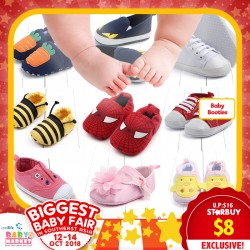 Baby Apparel - Booties (Shoes) 50% OFF