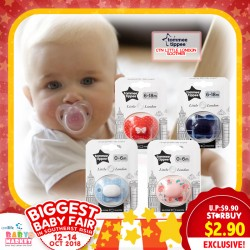 Tommee TIppee Closer to Nature Little London Soother (0-6mths / 6-18mths)