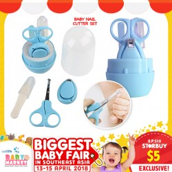 Mom's Closet Baby Nail Cutter Set