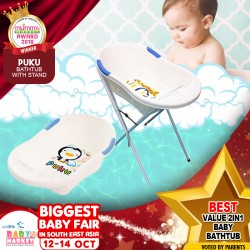 PUKU - Best Value 2in1 Baby Bath Tub
