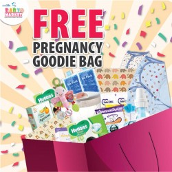 1,500 FREE Goody Bags For Mummies!