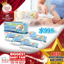 LEC - Best Moisturizing Baby Wipes