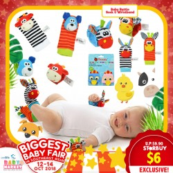 Baby Rattle Socks & Wristband