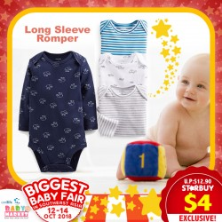 Mom's Closet baby Apparel Long Sleeve Romper (Assorted Designs Available!!)