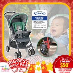 $50 Graco Literider Click Stroller (On selected Philips Avent Bundle!!!) PWP NOW!!!