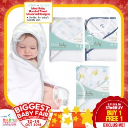 Aden+Anais Ideal Baby Hooded Towel (Asst Designs) Buy 1 FREE 1!!