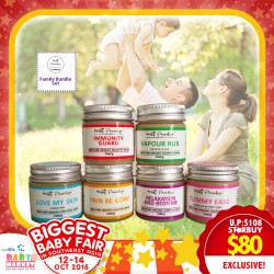 Kidz Paradize Family Defense Wellness / Essentials Oils / Balm Bundle (Newly Launched Immunity Guard Rub) ADDITIONAL FREE GIFT for EARLY BIRD SPECIAL!!