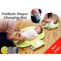 JJOVCE Portable Diaper Changing Mat (3 Colors Available)