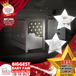 MICUNA - Best Baby Cot For Design And Comfort