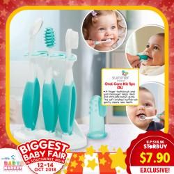 Summer Infant Oral Care Kit (3L) UP TO 60% OFF!!